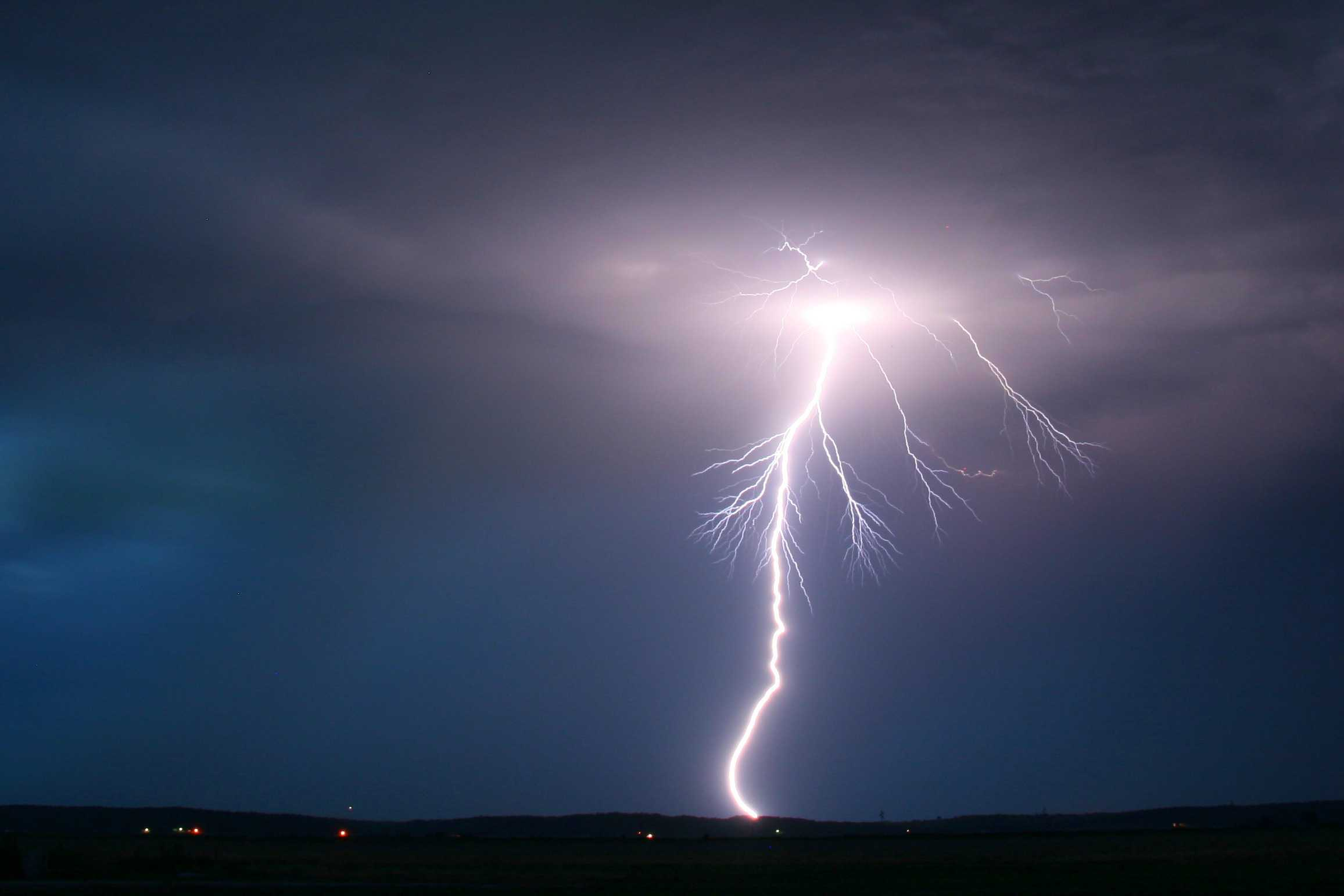 lightning ground discharge international cloud atlas